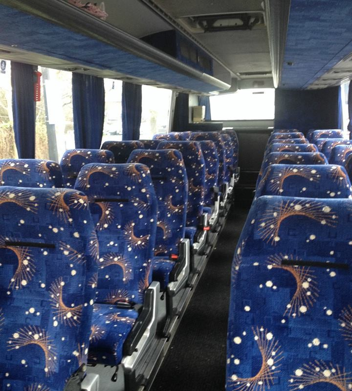 interior of 32 seater